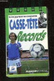 Foot Records Casse Tete - Couverture - Format classique