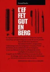 L'effet Gutenberg - Couverture - Format classique