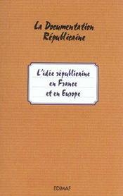 L'idée républicaine en Europe - Intérieur - Format classique