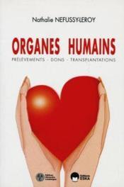 Organes Humains - Couverture - Format classique