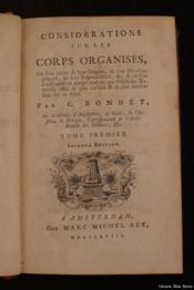 Considérations sur les corps organisés, où l'on traite de leur origine, de leur développement, de leur réproduction, &c - Couverture - Format classique
