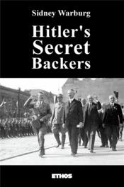 Vente livre :  Hitler's secret backers  - Sidney Warburg - Sidney Warburg