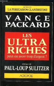 Les Ultra Riches - Couverture - Format classique