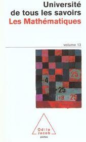 Les Mathematiques - Intérieur - Format classique