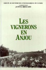 Les vignerons en Anjou - Couverture - Format classique