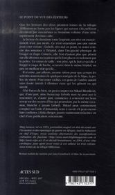 Millénium t.3 ; la reine dans le palais des courants d'air - 4ème de couverture - Format classique