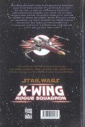 Star Wars - X-wing rogue squadron t.1 ; rogue leader - 4ème de couverture - Format classique