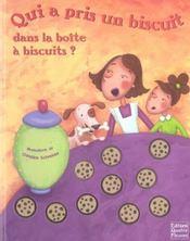 Qui a pris un biscuit dans la boîte à biscuits ? - Intérieur - Format classique