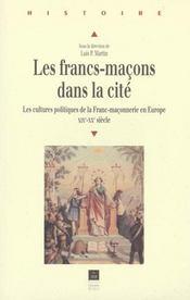 Francs Macons Dans La Cite - Intérieur - Format classique
