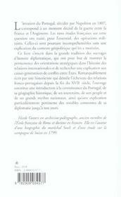 Napoleon Et Le Portugal - 4ème de couverture - Format classique