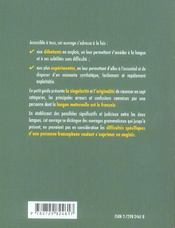 Les Sept Peches De L'Anglais Guide Des Erreurs A Eviter En Grammaire Et En Vocabulaire En 7 Chapitr. - 4ème de couverture - Format classique
