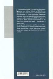 Biologie Animale Structures Et Fonctions 2e Edition Revue Et Corrigee - 4ème de couverture - Format classique