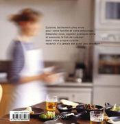 Dînons dans la cuisine - 4ème de couverture - Format classique