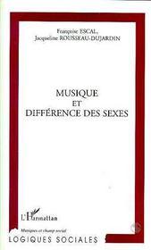 Musique et différence des sexes - Intérieur - Format classique