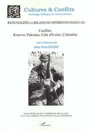 Sociologie politique de l'international ; rationalités et relations internationales n.2 - Intérieur - Format classique