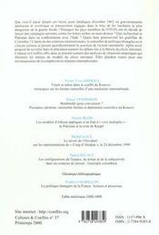 Sociologie politique de l'international ; rationalités et relations internationales n.2 - 4ème de couverture - Format classique