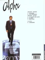 Alpha t.1 ; l'échange - 4ème de couverture - Format classique