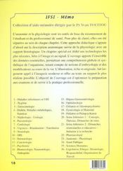 Anatomie Physiologie - 4ème de couverture - Format classique