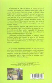 Le Mariage De Marie Falgoux - 4ème de couverture - Format classique