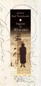 Fragments De Memoires - Couverture - Format classique