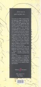 Fragments De Memoires - 4ème de couverture - Format classique