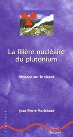 La Filiere Nucleaire Du Plutonium ; Menace Sur Le Vivant - Intérieur - Format classique