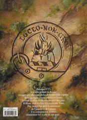 Sheriffmuir - 4ème de couverture - Format classique