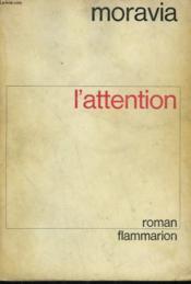 L'Attention. - Couverture - Format classique