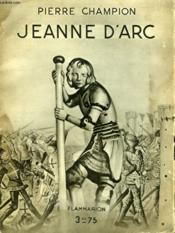 Jeanne D'Arc. Collection : Hier Et Aujourd'Hui. - Couverture - Format classique
