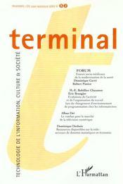 Terminal T.82 - Intérieur - Format classique