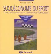 Socioeconomie Du Sport - Couverture - Format classique