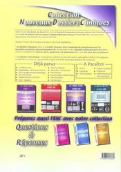 Medecine Kb ; Pédiatrie ; Epreuves Nationales Classantes - 4ème de couverture - Format classique