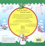 Sons et joies de Noël - 4ème de couverture - Format classique