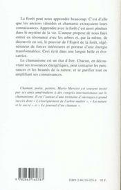L'Esprit De La Foret - 4ème de couverture - Format classique