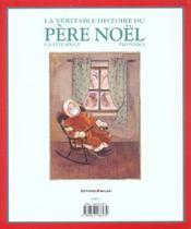La véritable histoire du père Noël - 4ème de couverture - Format classique