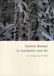 Le Testament Sans Fin - Intérieur - Format classique