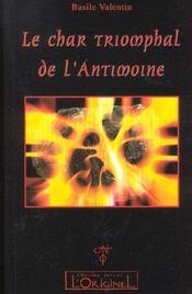 Le char triomphal de l'Antimoine - Intérieur - Format classique