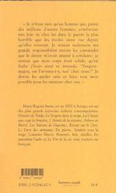 Derniere Partie De Cartes (La) - 4ème de couverture - Format classique