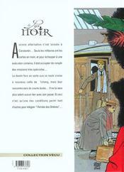 Le lys noir t.3 ; le voyage du lys - 4ème de couverture - Format classique