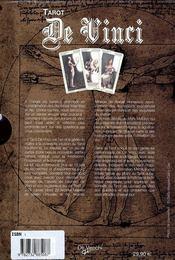 Tarots Da Vinci (Les) Coffret Livre + 78 Cartes - 4ème de couverture - Format classique