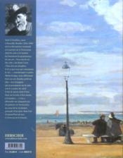 Boudin ; la Normandie - 4ème de couverture - Format classique