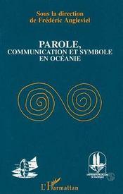 Parole, communication et symbole en Océanie - Intérieur - Format classique