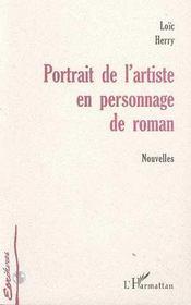 Portrait De L'Artiste En Personnage De Roman - Intérieur - Format classique