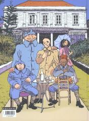 La grippe coloniale t.1 ; le retour d'ulysse - 4ème de couverture - Format classique