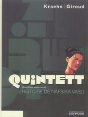 Quintett t.4 ; histoire de nafsika vasli - Intérieur - Format classique
