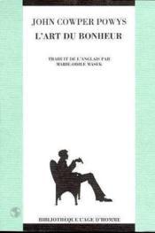 Art Du Bonheur (L') - Couverture - Format classique