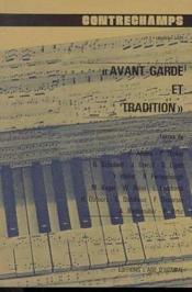 Q3 Avant-Garde Et Tradition - Couverture - Format classique