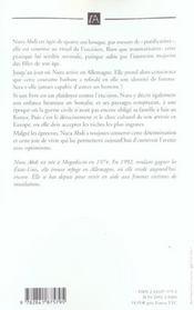 Larmes De Sable - 4ème de couverture - Format classique