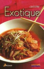 Cuisine exotique - Couverture - Format classique