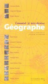 Comment je suis devenu géographe... - Intérieur - Format classique